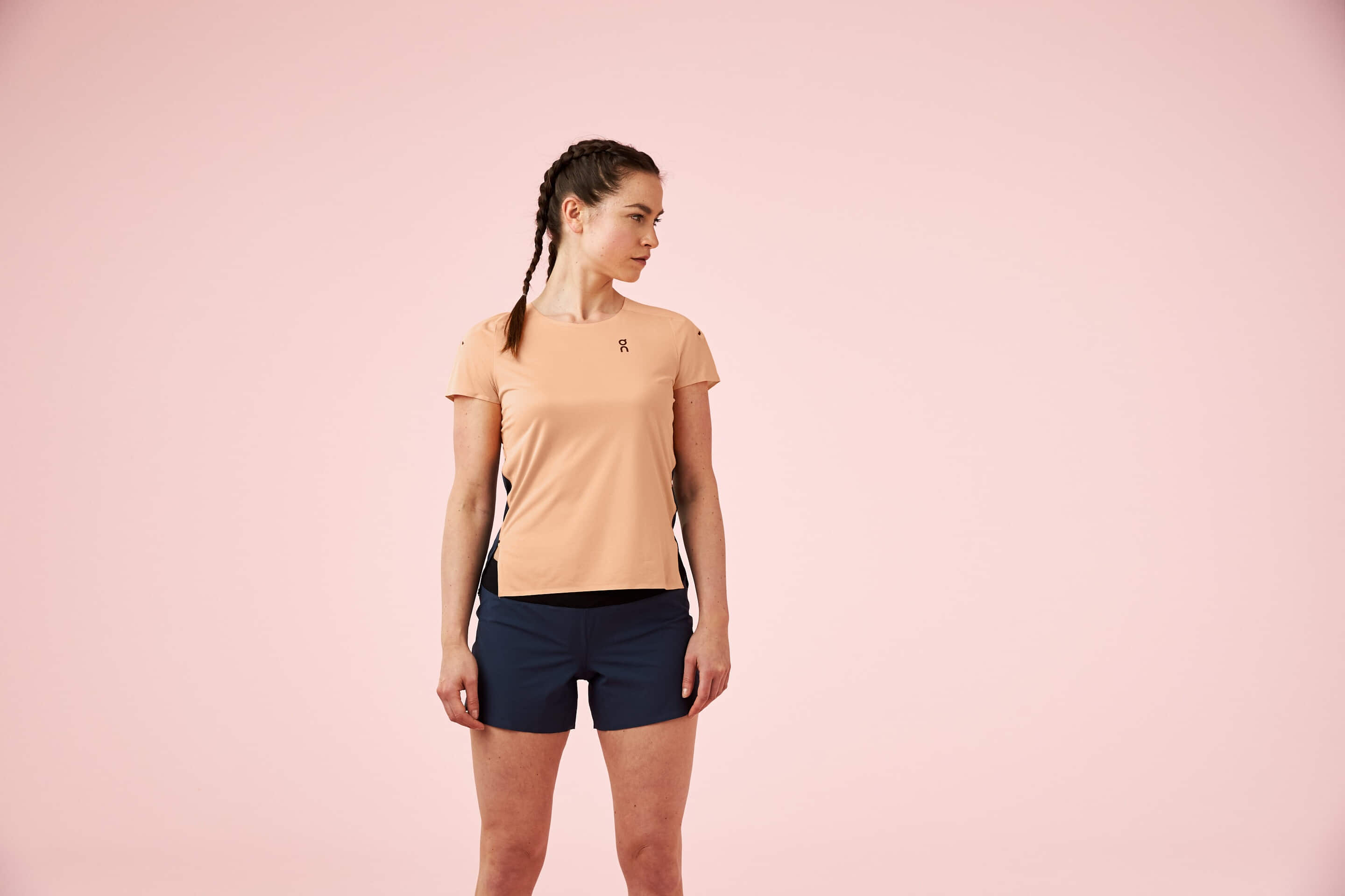 Performance t coral navy w