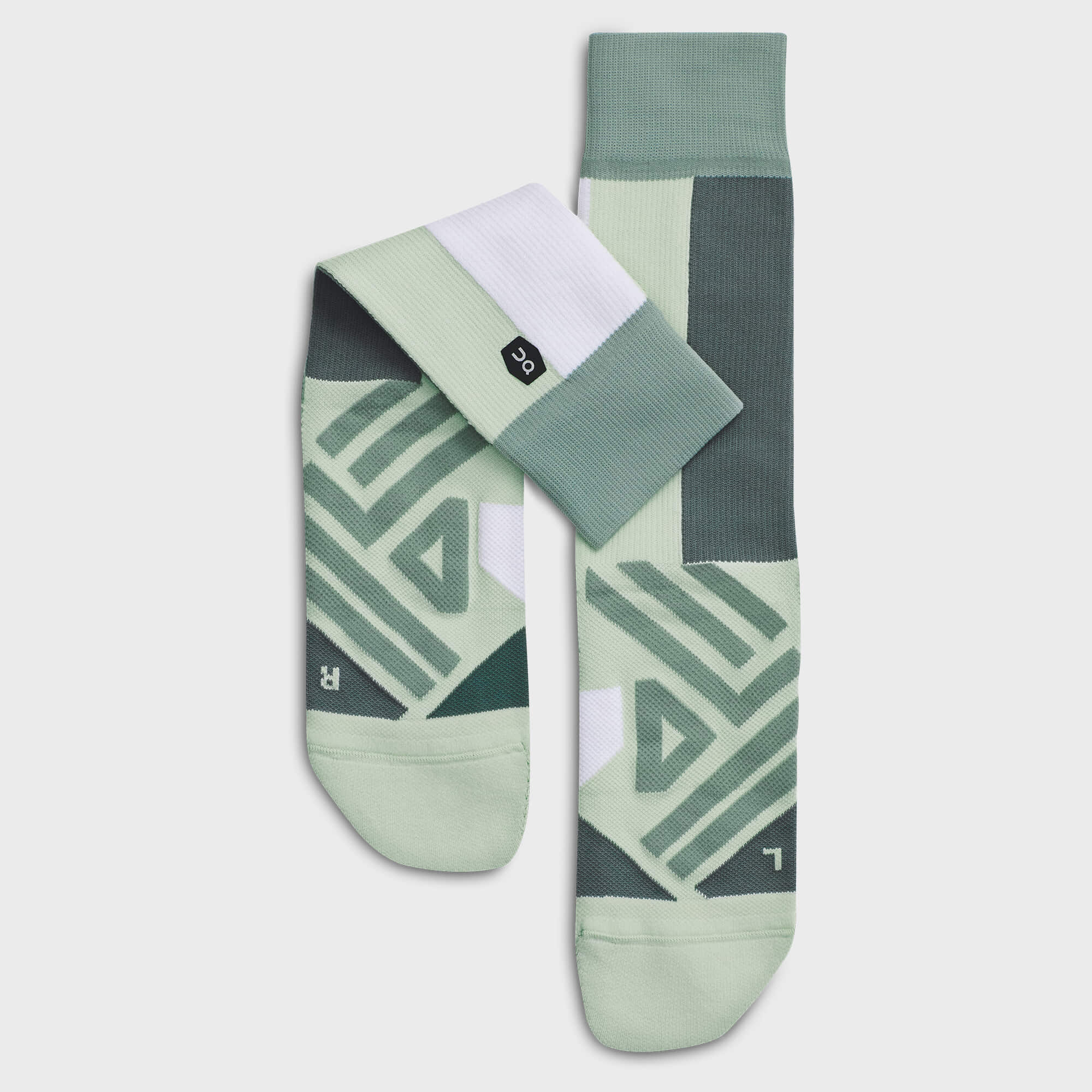 High sock ss19 mineral white w